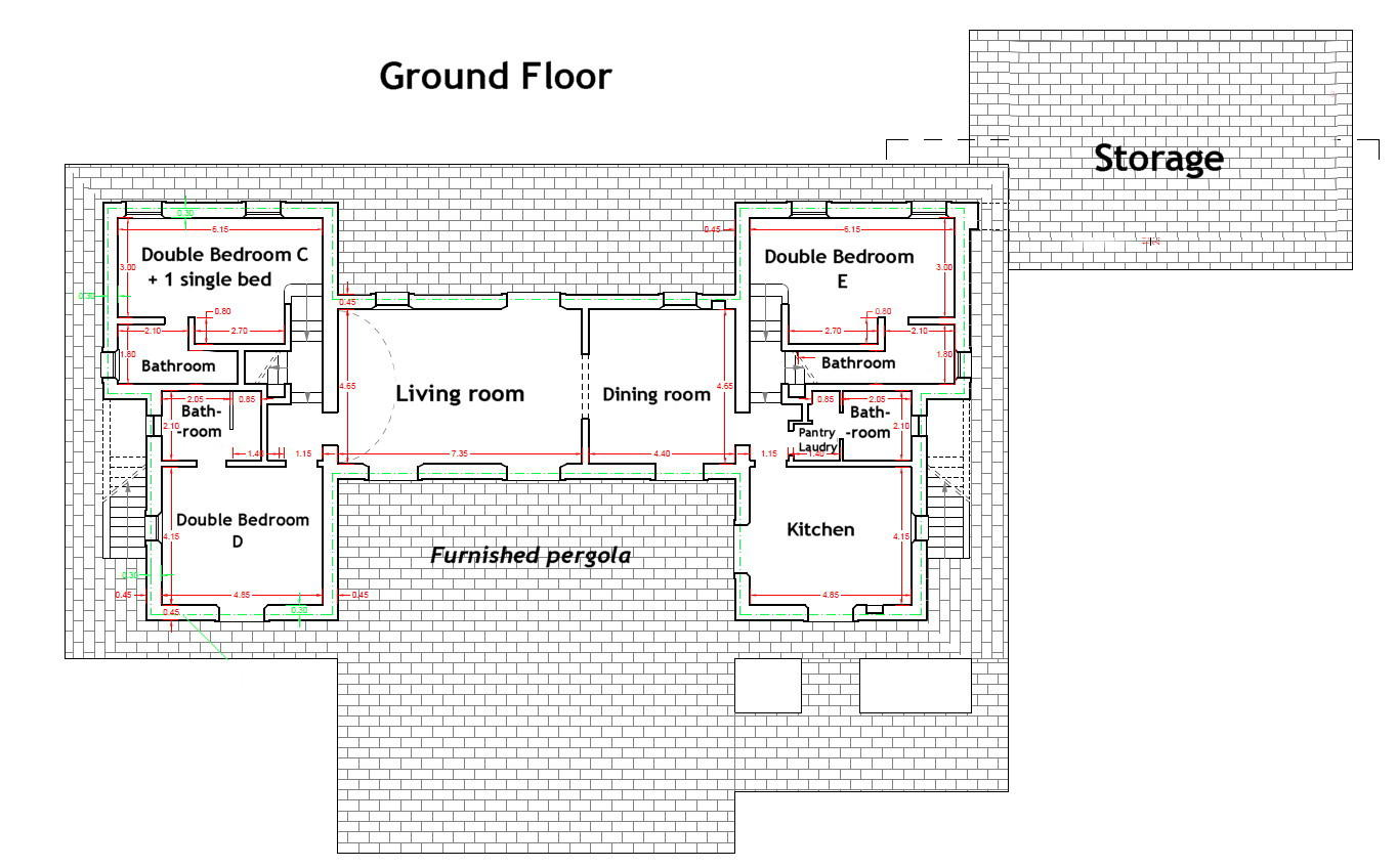house plan ground floor
