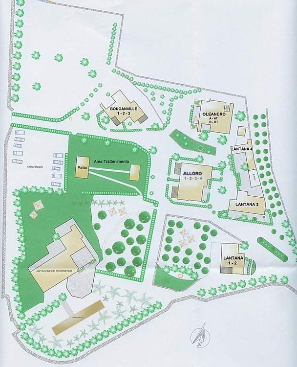 Plan of the village
