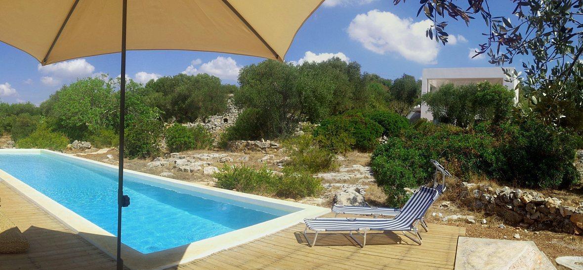 Salento versante ionico bella villa con piscina in - Villa con piscina santa maria di leuca ...